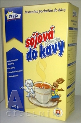 asp SÓJOVÁ pochúťka do kávy instantná 1x350 g