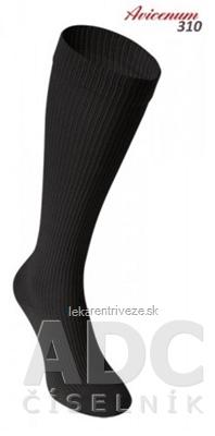 AVICENUM 310 Zdravotné podkolienky, Bavlna veľkosť 36-38, I.KT, Sanitized, čierne, 1x1 pár