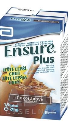 Ensure Plus čokoládová príchuť 1x220 ml