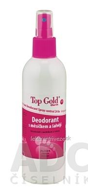 TOP GOLD Deo s nechtíkom a šalviou+Tea Tree Oil sprej 1x150 g