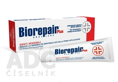 BIOREPAIR PLUS SENSITIVE TEETH zubná pasta 1x75 ml