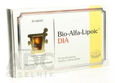 BIO-ALFA LIPOIC DIA tbl 1x30 ks