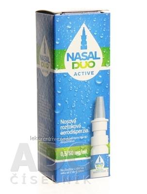 NASAL DUO ACTIVE 0,5/50 mg/ml aer nao 90 dávok (fľ. s mech.rozpraš.) 1x10 ml