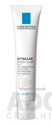 LA ROCHE-POSAY EFFACLAR DUO+ SPF30 (M9164900) anti UV, korekčný krém 1x40 ml