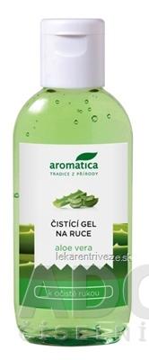 aromatica ČISTIACI GEL NA RUKY aloe vera 1x75 ml