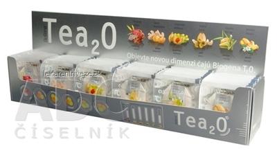 Biogena Tea2O MAXI kolekcia čajov: 6 druhov po 10 nálevových vrecúšok 1x60 ks (150 g)