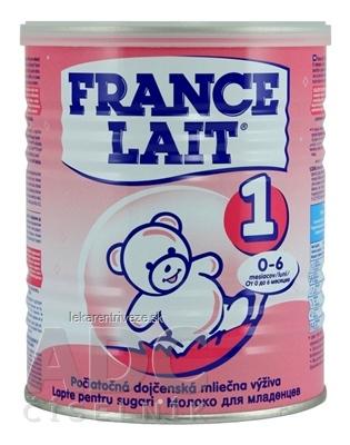 FRANCE LAIT 1 počiatočná mliečna výživa (0-6 mesiacov) 1x400 g