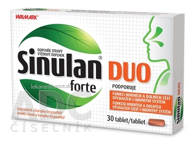 WALMARK Sinulan Duo forte tbl 1x30 ks