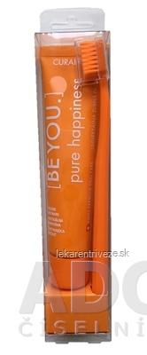 CURAPROX BE YOU Pure happiness - oranžový set zubná pasta 70 ml + zubná kefka CS 5460 1 ks, 1x1 set