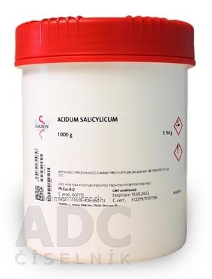 Acidum salicylicum - FAGRON v dóze 1x1000 g