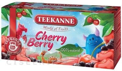 TEEKANNE WOF Cherry Berry ovocný čaj 20x2,25 g (45 g)