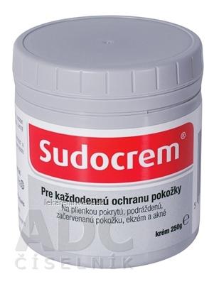 SUDOCREM Pre každodennú ochranu pokožky inov. 2017 1x250 g