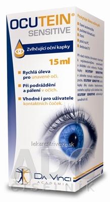 OCUTEIN SENSITIVE - DA VINCI zvlhčujúce očné kvapky 1x15 ml