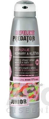 PREDATOR REPELENT JUNIOR sprej proti komárom a kliešťom 1x150 ml