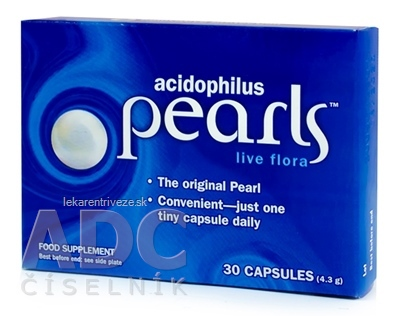 ACIDOPHILUS PEARLS cps 1x30 ks