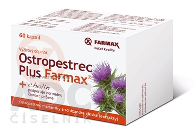 Ostropestrec Plus Farmax cps 1x60 ks