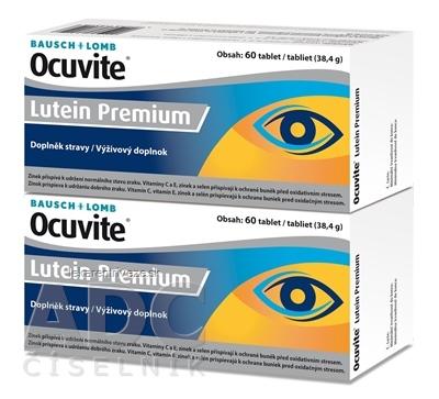 OCUVITE Lutein Premium tbl 2x60 (120 ks)