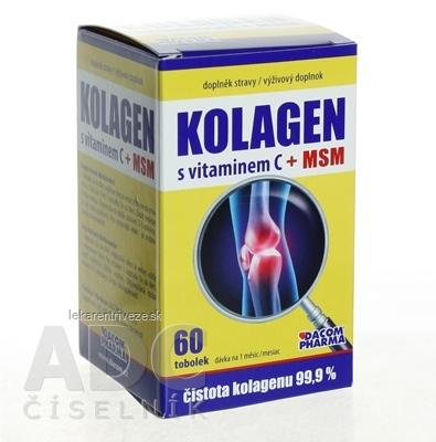 KOLAGEN s vitamínom C + MSM cps 1x60 ks