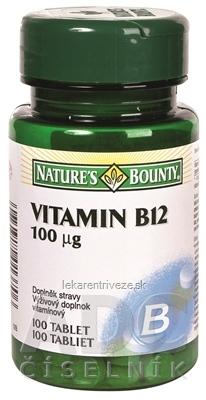 N. BOUNTY VITAMÍN B12 100 µg tbl 1x100 ks