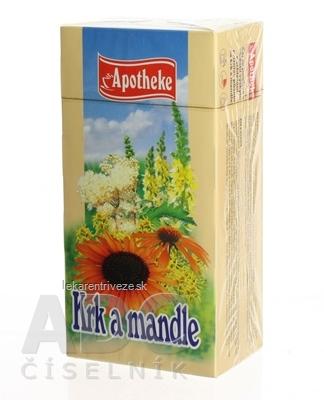 APOTHEKE ČAJ KRK A MANDLE 20x1,5 g (30 g)