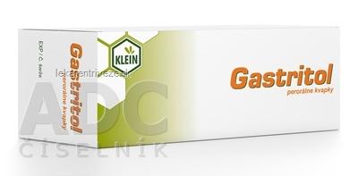 Gastritol perorálne kvapky gtt por (fľ.skl.hnedá) 1x20 ml