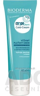 BIODERMA ABCDerm Cold Cream výživný ochranný pleťový krém 1x40 ml
