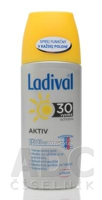 Ladival Transparentný sprej AKTIV SPF 30 na ochranu proti slnku 1x150 ml