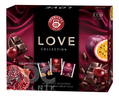 TEEKANNE COLLECTION LOVE ovocno-bylinné čaje, 3 druhy po 10 nálev. vrecúšok (Love, Passion, Desire) 1x1 set