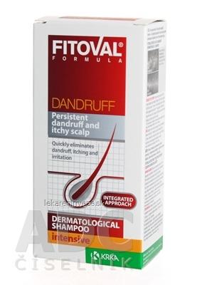 FITOVAL DANDRUFF intensive Intenzívny dermatologický šampón proti lupinám 100 ml