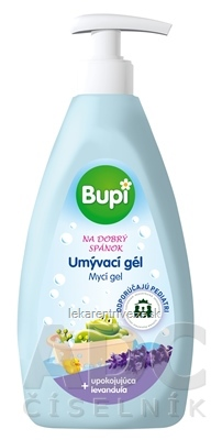 Bupi BABY Umývací gél - levanduľa 1x500 ml