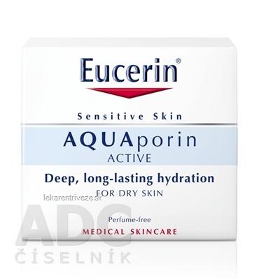 Eucerin AQUAporin ACTIVE Krém pre suchú pleť 1x50 ml
