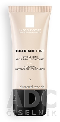LA ROCHE-POSAY TOLERIANE Hydratačný Make-up 03 (M5895300) 1x30 ml