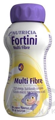 Fortini Multi Fibre pre deti výživa s banánovou príchuťou 1x200 ml