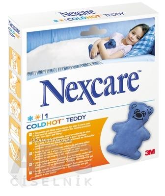 3M Nexcare Coldhot Teddy gélový obklad pre deti 1x1 ks
