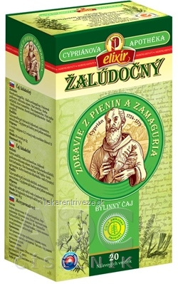 AGROKARPATY CYPRIÁN, ŽALÚDOČNÝ bylinný čaj, čistý prírodný produkt, 20x2 g (40 g)