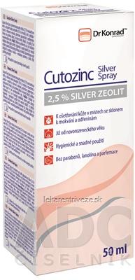 Dr Konrad Cutozinc Silver Spray 1x50 ml