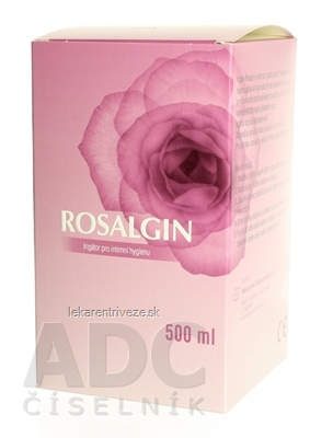 ROSALGIN vaginálny irigátor s objemom 500 ml 1x1 ks