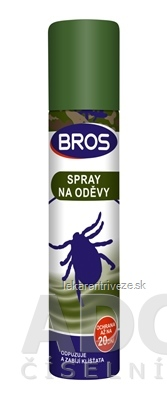 BROS spray na odevy 1x90 ml