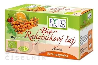 FYTO Bio Rakytníkový čaj vrecká 20x1,5 g (30 g)