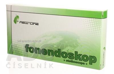 FAZZINI Jednostranný FONENDOSKOP (08.131.00) čierny 1x1 ks