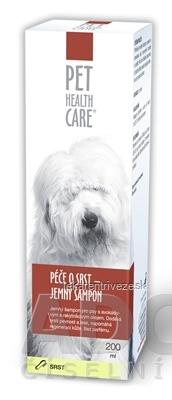 PET HEALTH CARE Starostlivosť o srsť jemný šampón 1x200 ml