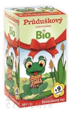 APOTHEKE ROZPRÁVKA Prieduškový so skorocelom Bio bylinný čaj (od ukončeného 9. mesiaca) 20x1,5 g (30 g)