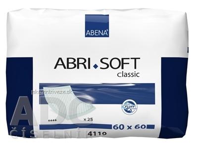 ABENA ABRI SOFT 60x60 cm podložka absorpčná, savosť 1300 ml, 1x25 ks