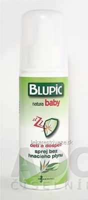BLUPIC natura baby sprej 1x100 ml