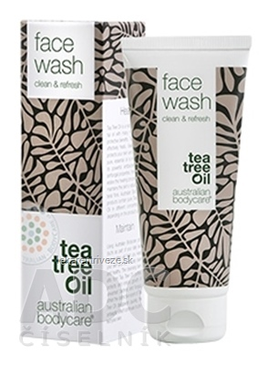 ABC tea tree oil FACE WASH - Pleťový čistiaci gél 1x100 ml