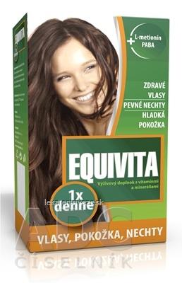 EQUIVITA tbl (1x denne) vlasy, pokožka, nechty 1x42 ks