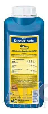 BODE Korsolex basic dezinfekcia nástrojov, 1x2 l