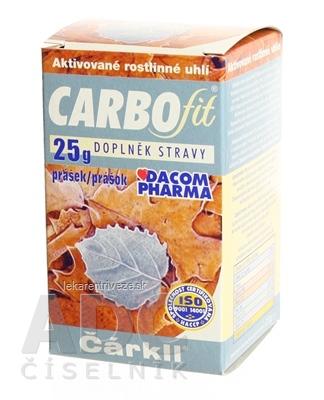 CARBOFIT Čárkll prášok 1x25 g