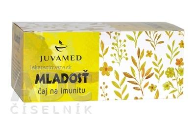 JUVAMED MLADOSŤ čaj na imunitu bylinný čaj v nálevových vreckách 20x1,5 g (30 g)