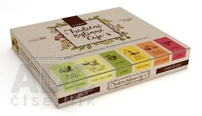 LEROS KAZETA Tradičné bylinné čaje (bylinné + ovocný) 6 druhov po 5 vrecúšok, 1x1 set